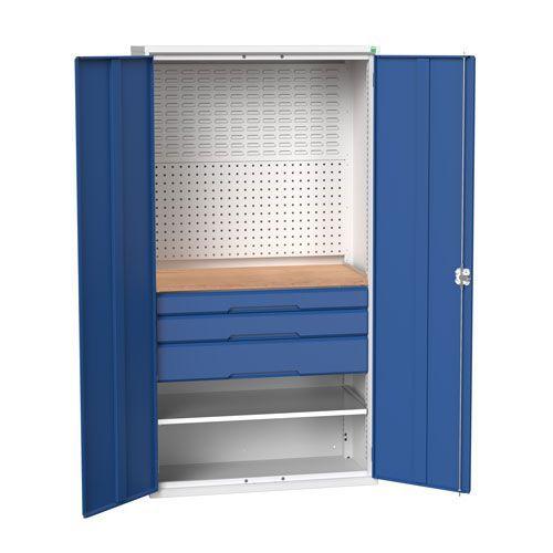 Bott Verso Multi Drawer/Shelves Mini Workshop Cupboard HxW 2000x1050mm