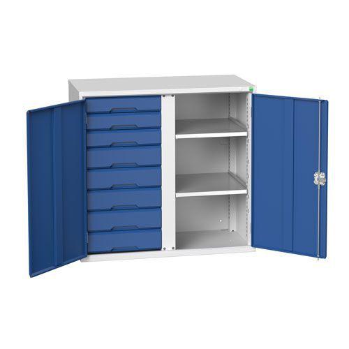 Bott Verso Multi Drawer/Shelves PPE Metal Cabinet HxW 1000x1050mm