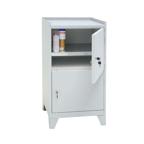 Manutan Double Door Cupboard - 1020x533x500mm