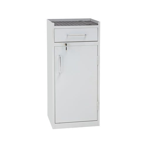 Manutan Lockable Tool Cupboard with Drawer - 980x430x340mm