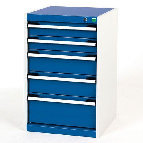 Bott Cubio Multi Drawer Cabinet For Tool Storage HxWxD 800x525x525mm