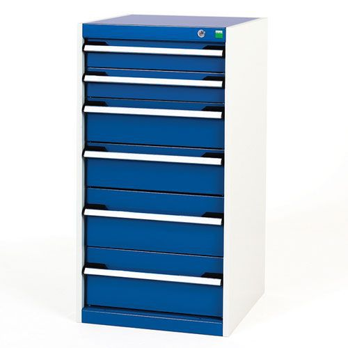 Bott Cubio Multi Drawer Cabinets For Tool Storage HxWxD 1000x525x525mm