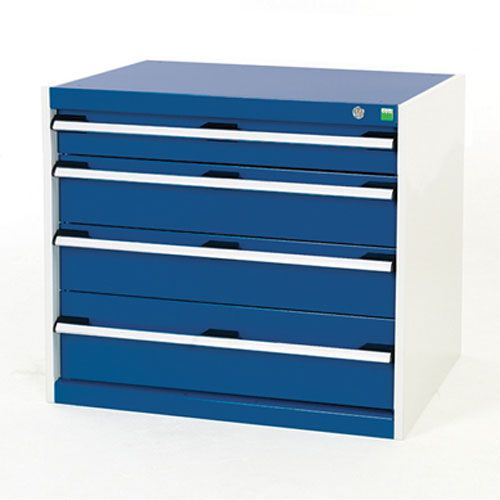 Bott Cubio Multi Drawer Cabinets For Tool Storage HxWxD 700x800x525mm