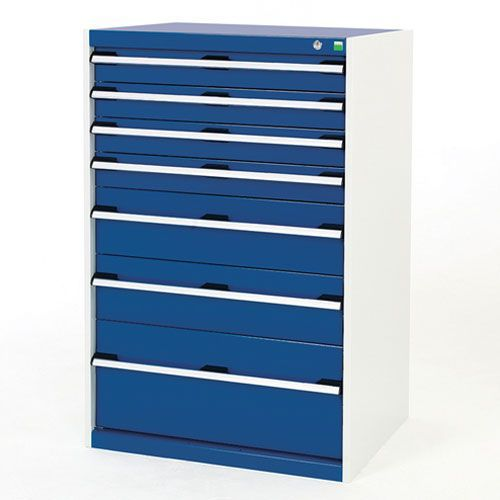 Bott Cubio Multi Drawer Cabinets For Tool Storage HxWxD 1200x800x525mm
