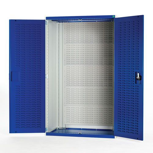 Bott Cubio Heavy Duty Cabinet With Louvre Back And Doors 2000x1050x525mm