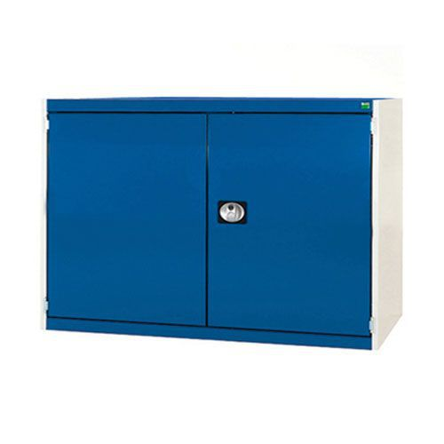 Bott Cubio Heavy Duty Cabinet With 2 Perfo Storage Doors WxD 1300x525mm