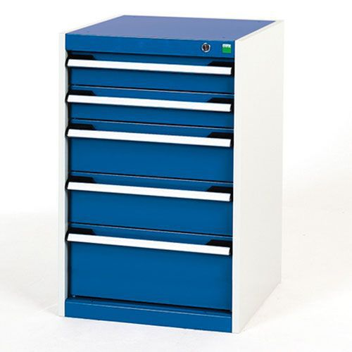 Bott Cubio Multi Drawer Cabinets For Tool Storage HxWxD 800x525x650mm