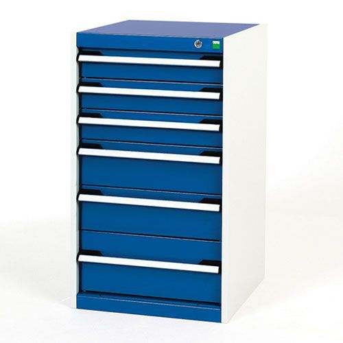 Bott Cubio Multi Drawer Cabinets For Tool Storage HxWxD 900x525x650mm