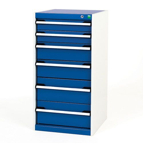 Bott Cubio Multi Drawer Cabinets For Tool Storage HxWxD 1000x525x650mm