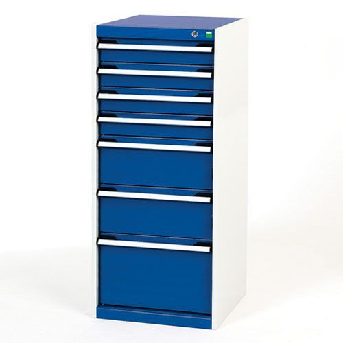 Bott Cubio Multi Drawer Cabinets For Tool Storage HxWxD 1200x525x650mm