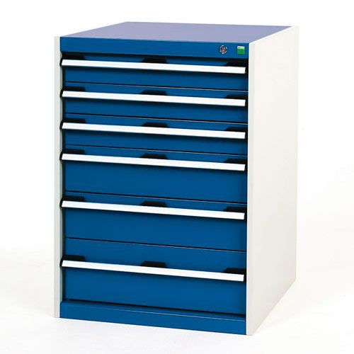 Bott Cubio Multi Drawer Cabinets For Tool Storage HxWxD 900x650x650mm