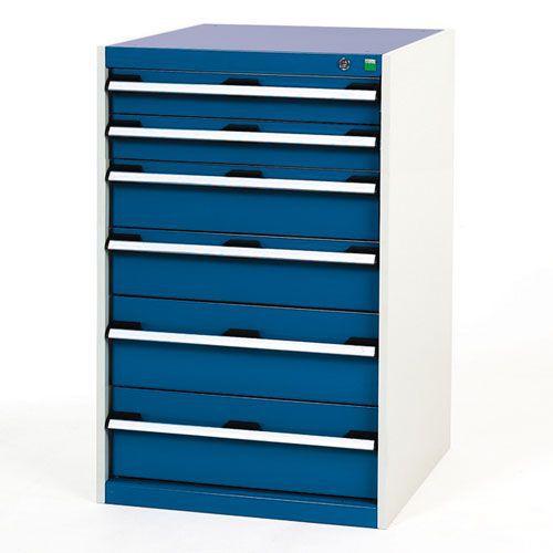 Bott Cubio Multi Drawer Cabinets For Tool Storage HxWxD 1000x650x650mm
