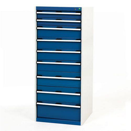 Bott Cubio Multi Drawer Cabinets For Tool Storage HxWxD 1600x650x650mm