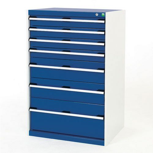 Bott Cubio Multi Drawer Cabinets For Tool Storage HxWxD 1200x800x650mm