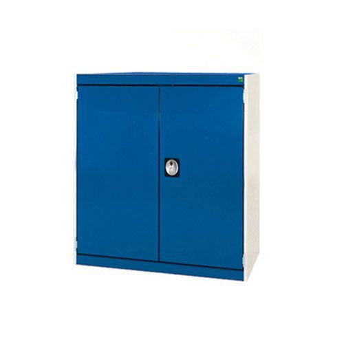 Bott Cubio Heavy Duty Cabinet With 2 Perfo Storage Doors WxD 800x650mm