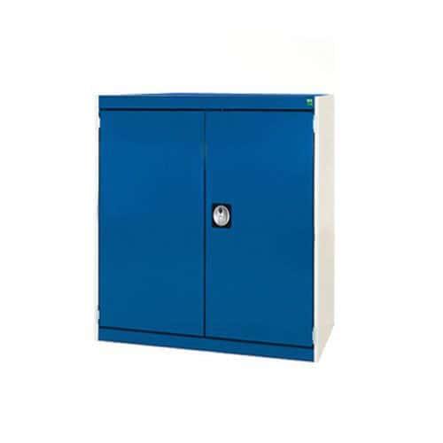 Bott Cubio Heavy Duty Cabinet With 2 Perfo Storage Doors WxD 800x650mm