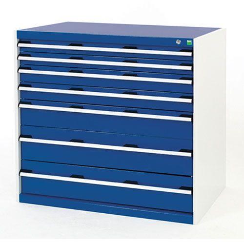 Bott Cubio Multi Drawer Tool Storage Cabinets HxWxD 1000x1050x650mm