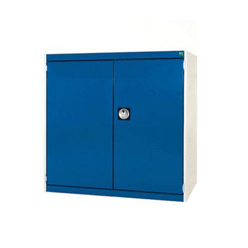 Bott Cubio Heavy Duty Cabinet With 2 Perfo Storage Doors WxD 1050x650mm