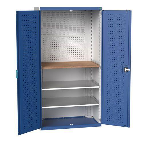 Bott Cubio 2 Shelf Mini Workshop Heavy Duty Metal Cabinet 2000x1050x650mm