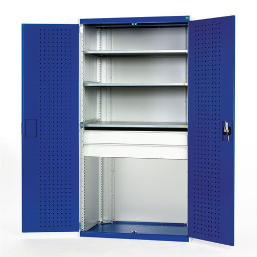 Bott Cubio 2 Drawer 3 Shelf Metal Cabinet 2000x1050x650mm