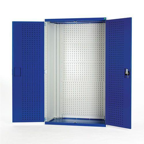 Bott Cubio Perfo Back And Doors Heavy Duty Storage Cabinet 1200x1050x650mm