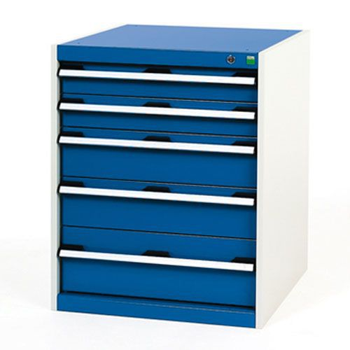 Bott Cubio Multi Drawer Cabinets For Tool Storage HxWxD 800x650x750mm