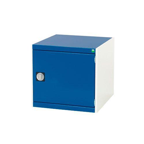 Bott Cubio Heavy Duty Cupboard With Perfo Storage Door HxWxD 600x650x750mm