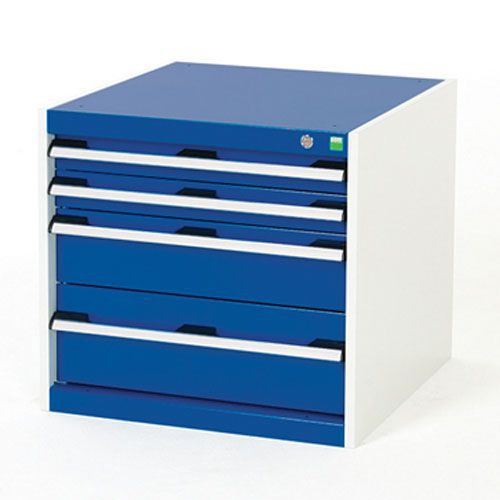 Bott Cubio Multi Drawer Cabinets For Tool Storage HxWxD 600x650x750mm