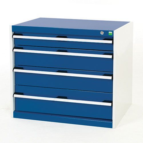 Bott Cubio Multi Drawer Cabinets For Tool Storage HxWxD 700x800x750mm
