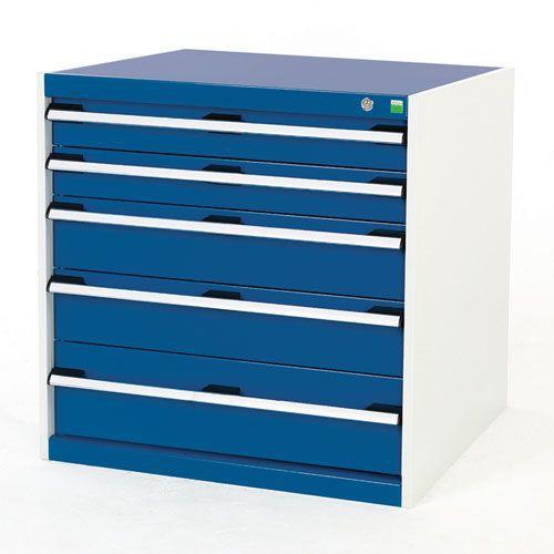 Bott Cubio Multi Drawer Cabinets For Tool Storage HxWxD 800x800x750mm