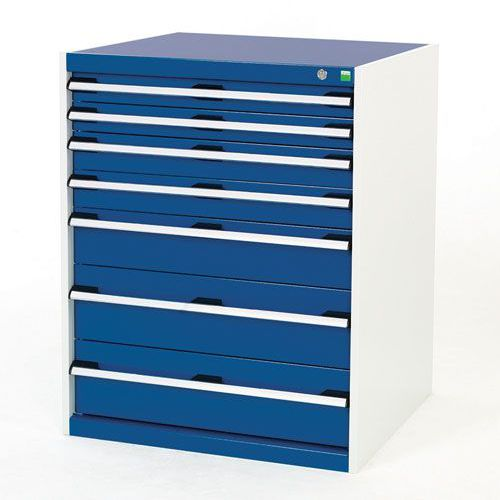 Bott Cubio Multi Drawer Cabinets For Tool Storage HxWxD 1000x800x750mm