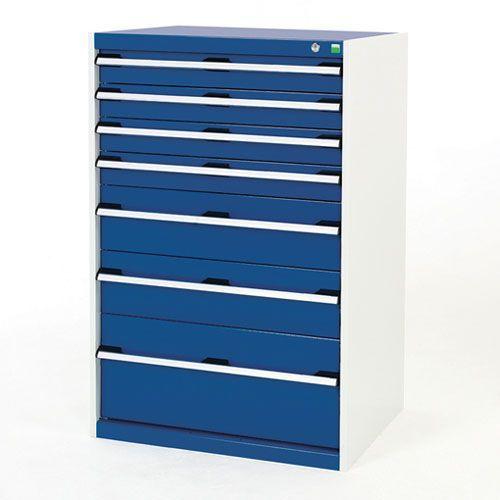 Bott Cubio Multi Drawer Cabinets For Tool Storage HxWxD 1200x800x750mm