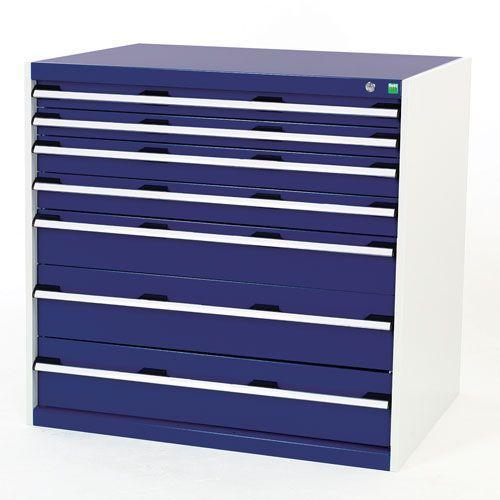Bott Cubio Multi Drawer Tool Storage Cabinets HxWxD 1000x1050x750mm