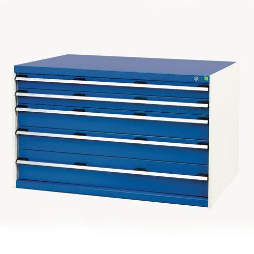Bott Cubio Multi Drawer Cabinets For Tool Storage HxWxD 800x1300x750mm