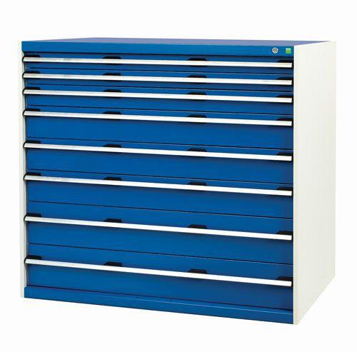 Bott Cubio Multi Drawer Tool Storage Cabinets HxWxD 1200x1300x750mm