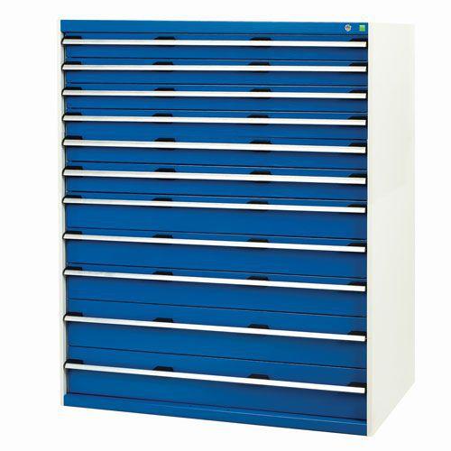 Bott Cubio Multi Drawer Tool Storage Cabinets HxWxD 1600x1300x750mm