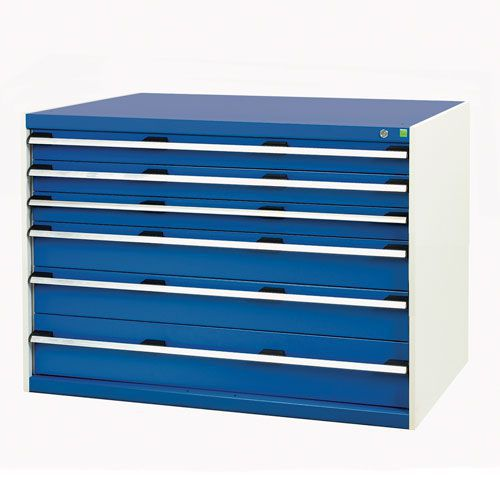 Bott Cubio Multi Drawer Cabinets For Tool Storage HxWxD 900x1300x750mm