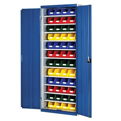 Bott Cubio Workshop Storage Cabinet With 48 Bins HxW 2000x800mm