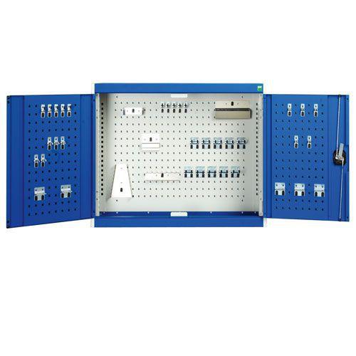 Bott Cubio Perfo Door And 40 Hook Storage Kit Wall Cupboard 1000x1050x325mm