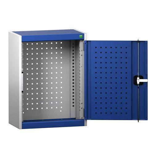 Bott Cubio Wall Cabinet With Perfo Storage Doors HxWxD 700x525x325mm