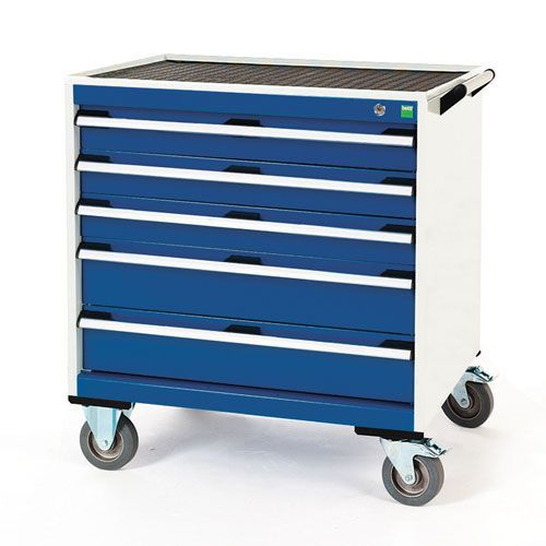 Bott Cubio Multi Drawer Mobile Tool Storage Cabinet 890x800x650mm