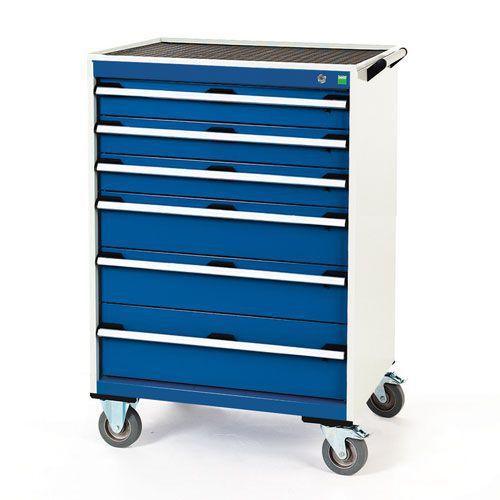 Bott Cubio Multi Drawer Mobile Tool Storage Cabinet 1090x800x650mm