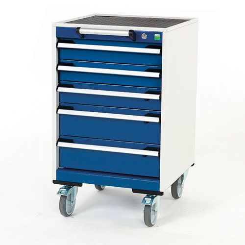 Bott Cubio Multi Drawer Mobile Tool Storage Cabinet 890x525x525mm