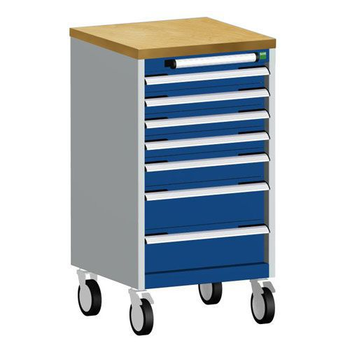 Bott Cubio Multi Drawer Mobile Tool Storage Cabinet 990x525x525mm