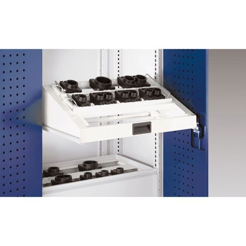 Bott Cubio Sliding Shelf Insert For CNC Storage Range 800mm Wide
