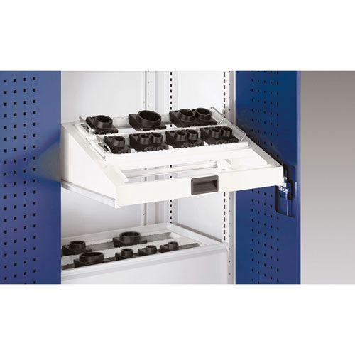 Bott Cubio Sliding Shelf Insert For CNC Storage Range 800mm Wide