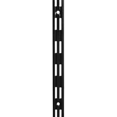 Aspect Twin Slot Upright - 1500mm - Black