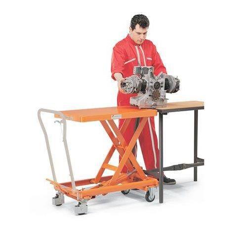 Bishamon Mobile Lift Table - 150kg- 730mm