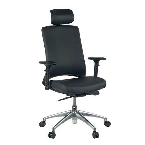 Tay Ergonomic Leather Office Chair