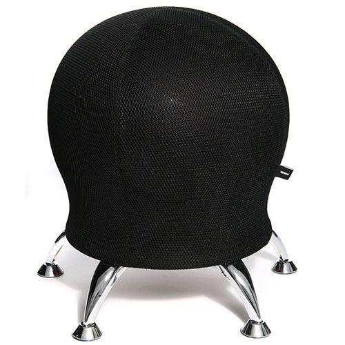 Quail Fitness Ball Office Chair with Chrome Feet